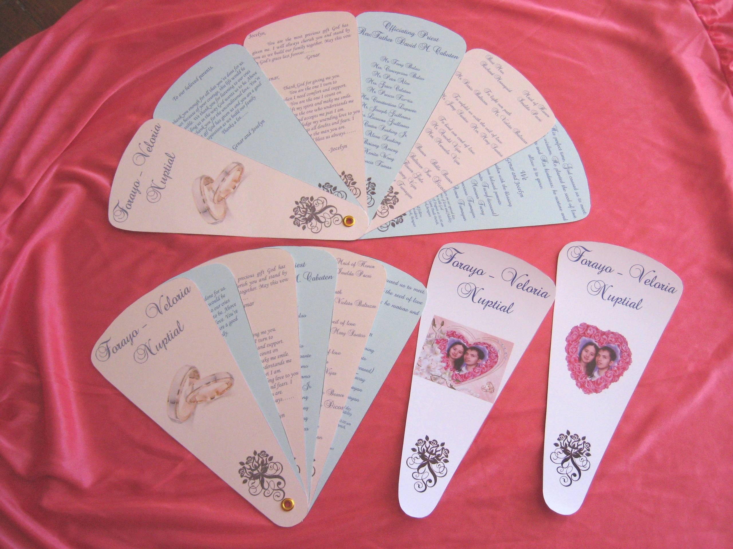 Fan Invitation | Craftandarts\'s Blog